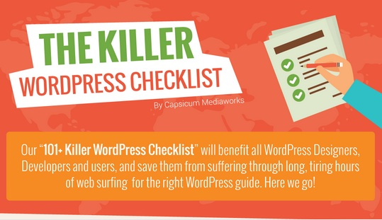 The Ultimate WordPress Checklist